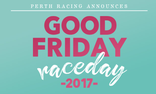 Perth Racing Good Friday Logo
