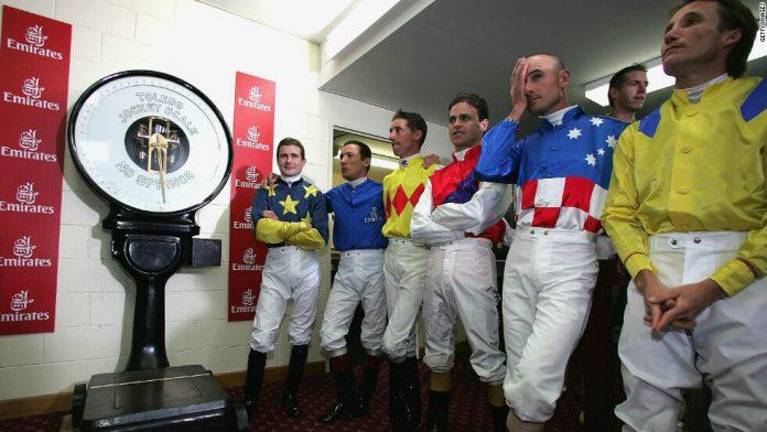 Jockeys weight