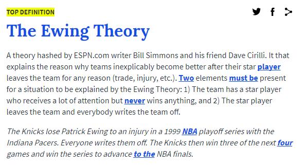 ewing theory