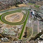 Flemington racecourse edge