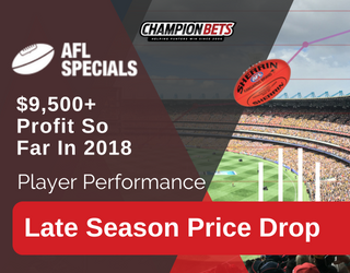 AFL Specials Champion Bets