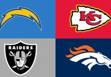 NFL 2018 NFL Tips AFC West