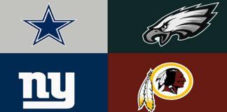NFL tips NFL 2018 NFC east